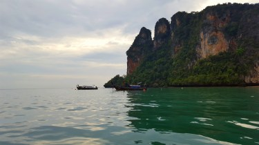 One of the cliffs on Railay East