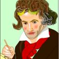 ワードで模写・・・ベートーベン