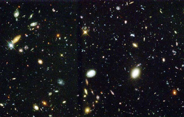 Hubble deep field picture