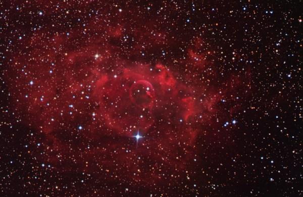 APOD: 2004 March 28 - Stars and the Bubble Nebula