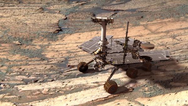 APOD 2005 December 14 A Digital Opportunity Rover on Mars