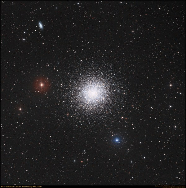 APOD: 2007 November 15 - M13: The Great Globular Cluster ...