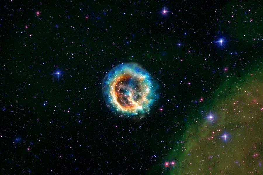 Remanente de la Supernova E0102-72