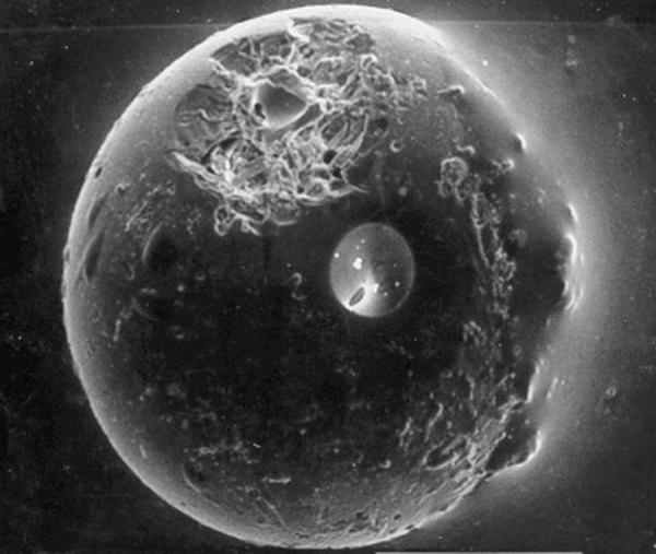 APOD 2010 January 10 A Spherule from the Earths Moon