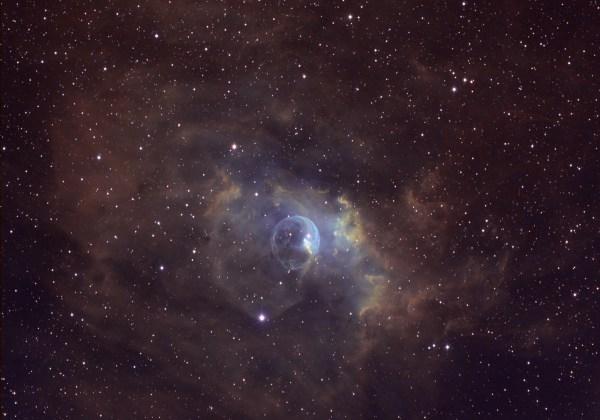 NGC 7635 - The Bubble Nebula • Skeptical Science