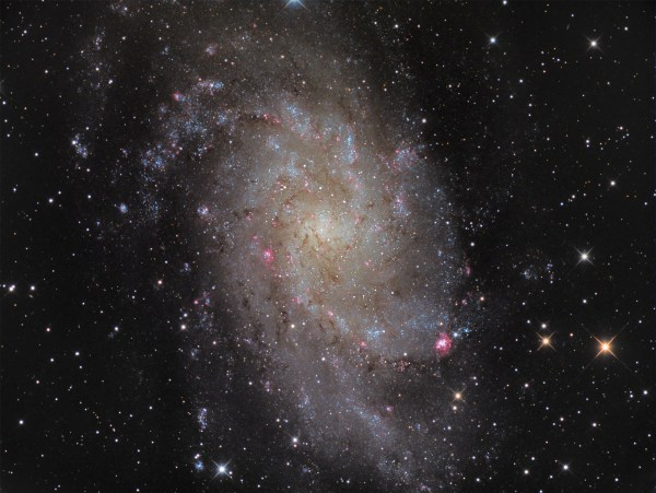 APOD: 2010 December 3 - M33: Triangulum Galaxy