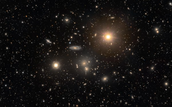 APOD: 2012 May 12 - The Hydra Cluster of Galaxies