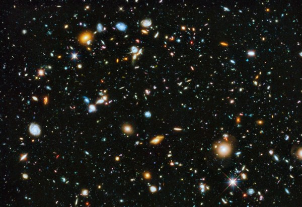 APOD: 2014 June 5 - Hubble Ultra Deep Field 2014