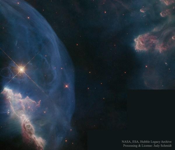APOD: 2016 April 3 - Close up of the Bubble Nebula