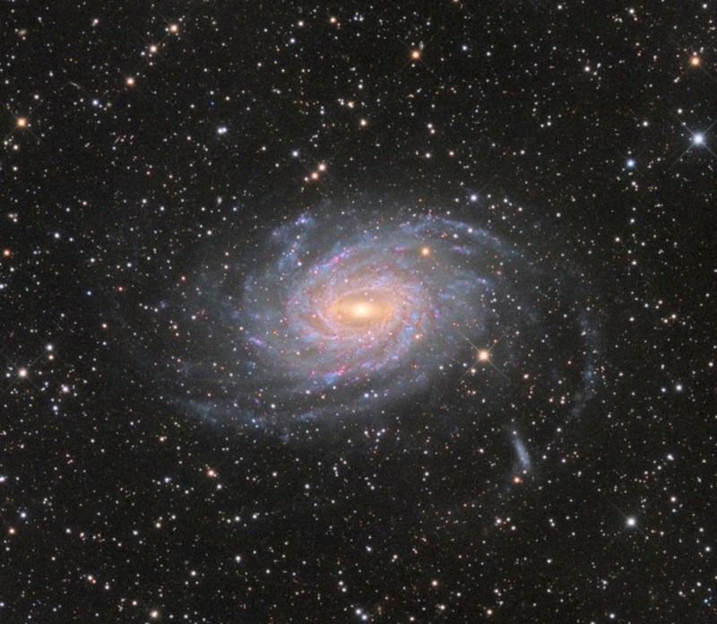 Spiral Galaxy NGC 6744