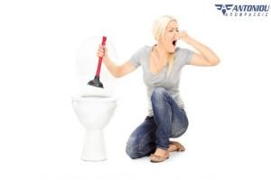 Λύσεις για το ξεβούλωμα της λεκάνης της τουαλέτας
