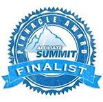 Affiliate Summit Pinnacle Award Finalist badge - Apogee
