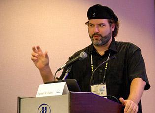 Daniel M. Clark speaking at Affiliate Summit