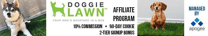 Doggie Lawn Affiliate Program | Managed by Apogee