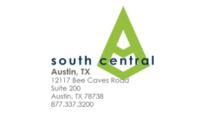 South Central Office Graphic Green