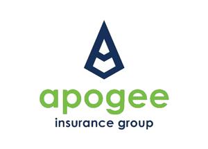 Apogee logo and name