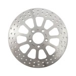 """TRW brake rotor Spoke 11.5"""", rear left & right   00-20 Softail (excl. 2017 FXSE); 00-17(NU)Dyna (excl. FXDLS); 00-07(NU)Touring; 00-10(NU)XL"""