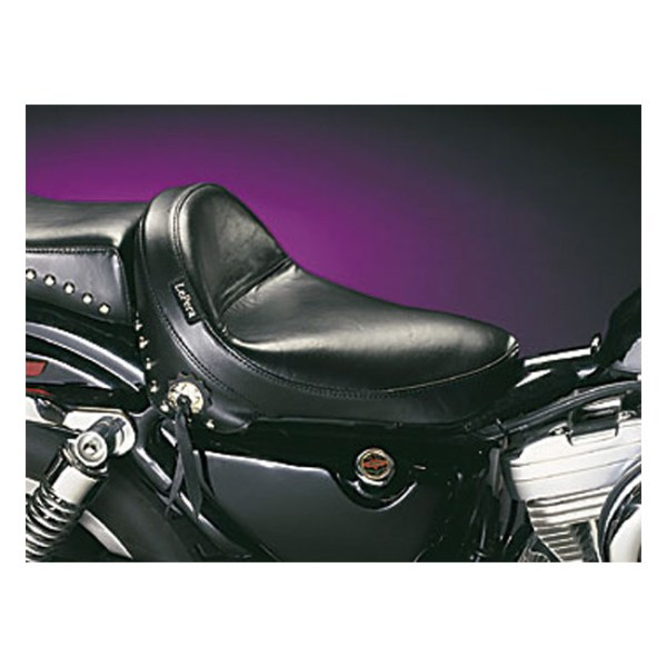 LePera, Monterey solo seat. Smooth with fringes   82-03 XL (NU)