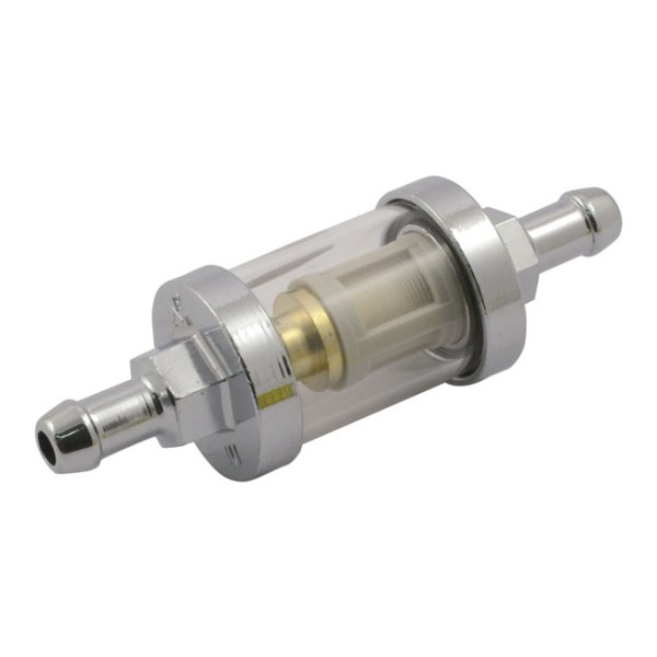 CLEAR-VIEW FUEL FILTER, 5/16 ID  