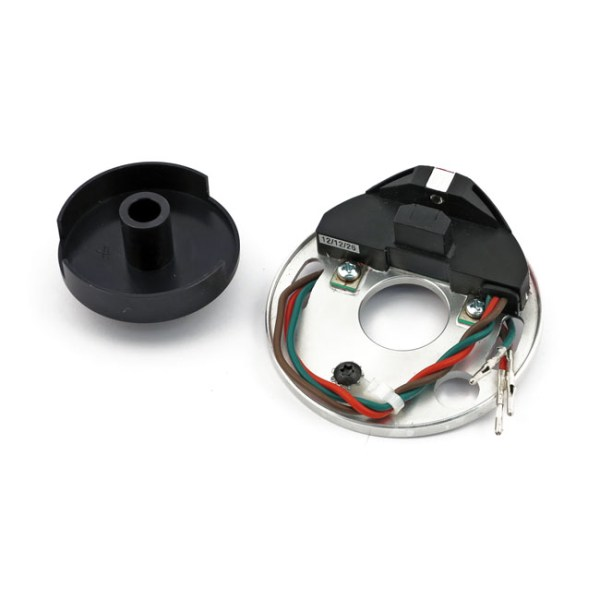 Mallory, 'e-spark' ignition module. Dual fire   70-99 B.T. (excl. Twin Cam, excl. fuel injetion); 71-03 XL (NU)