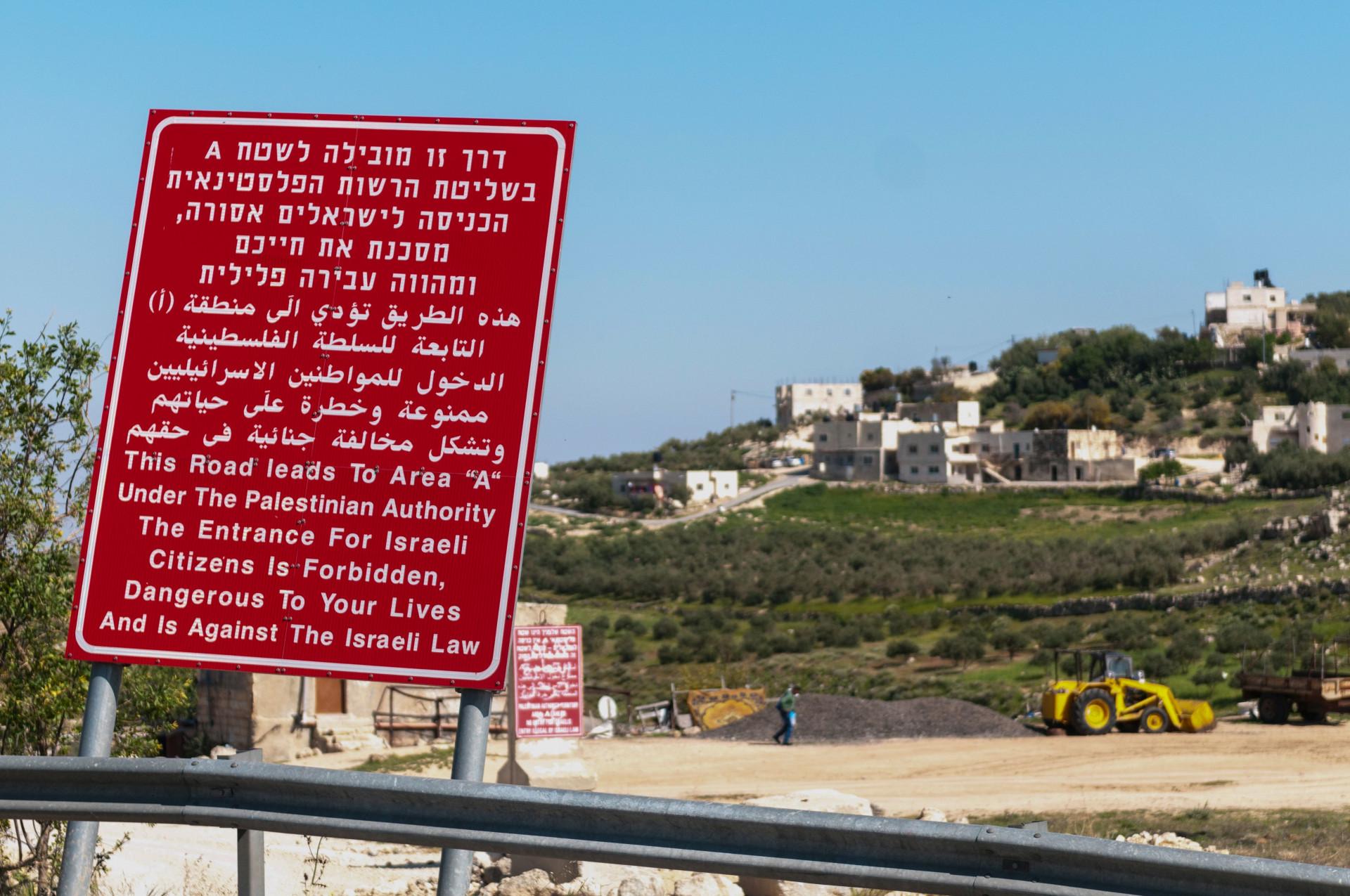 Wie Palästina von der weltpolitischen Landkarte verschwand