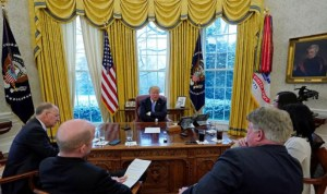 """Trump: """"Very Possible"""" Crisis With North Korea Can't Be Resolved Peacefully"""