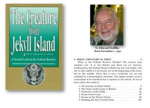 The Creature from Jekyll Island – Unprofessional Propaganda Book | Armstrong Economics