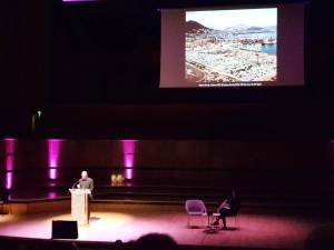 Internationalism vs Globalisation: Why progressives across Europe and beyond must forge a common internationalist movement – Talk at the Royal Festival Hall, accompanied by Andreas Gursky's images and Danae Stratou's 'The Globalising Wall), 9 APR 2018