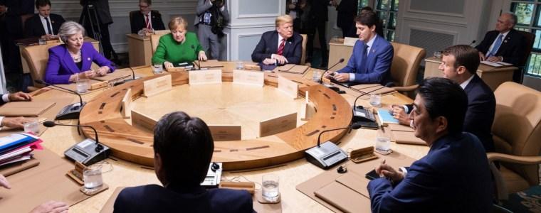 G-7: Einig bei Vorwürfen gegen Russlands Destabilisierungsmaßnahmen
