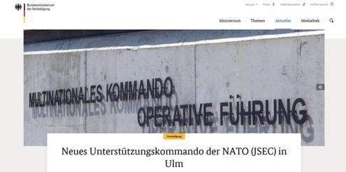 Note «Ungenügend» für Deutschlands Friedenspolitik