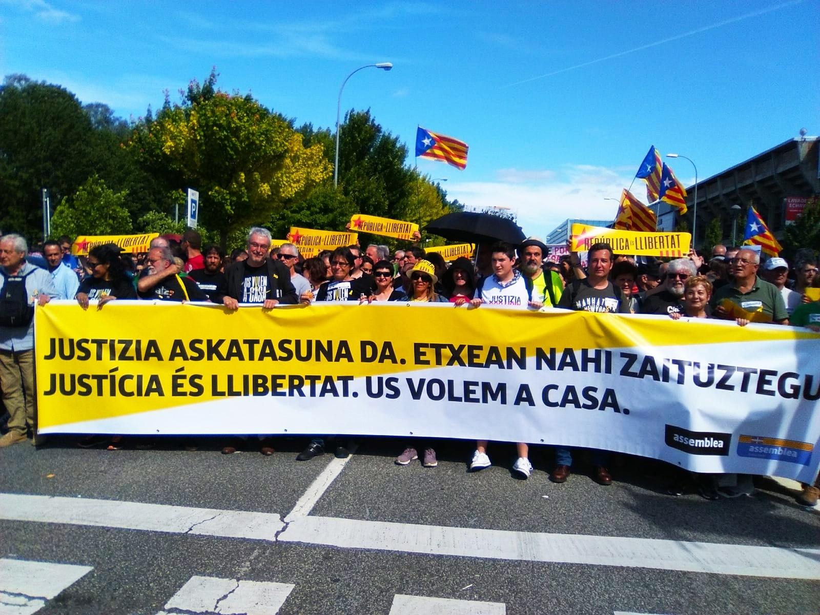 Unglaubliche Solidarität mit jungen Basken