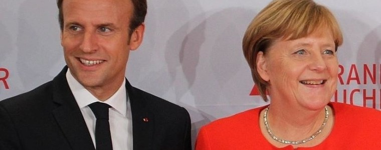 Merkel braucht Macron