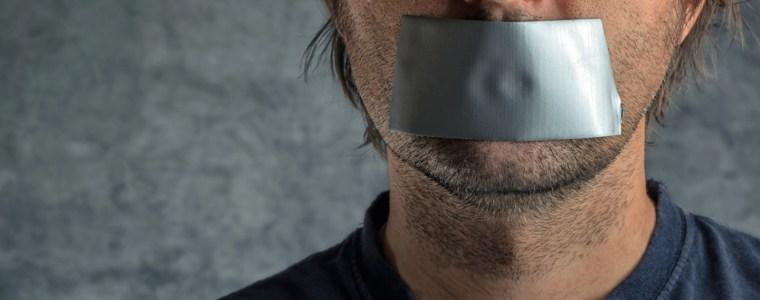 Das Redeverbot