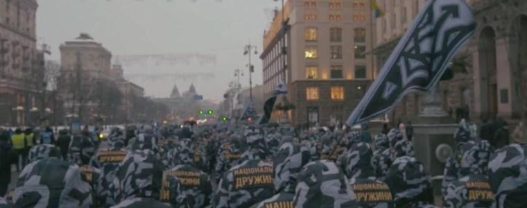 Militante rechtsextreme Gruppen können in der Ukraine ungestraft Gewalt anwenden