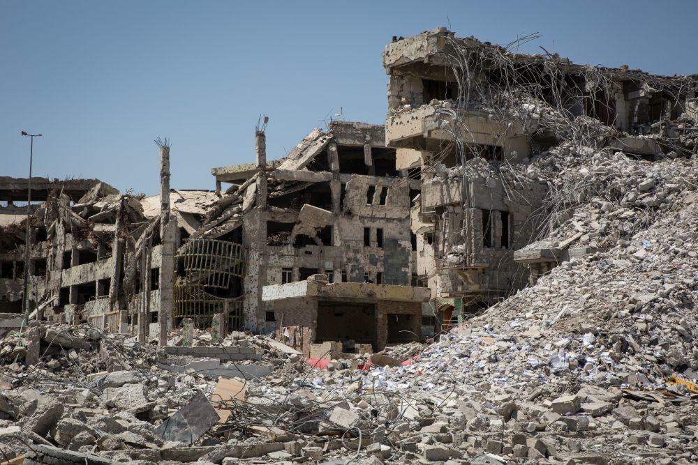 """Das """"befreite"""" Mosul liegt noch immer in Trümmern"""