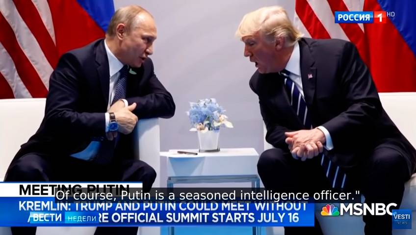 Excellent Russian Analysis of Upcoming Trump – Putin Helsinki Meeting from Russian TV's New York Correspondent