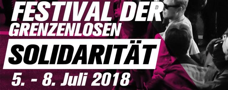 5.-8. juli 2018 Een jaar na de G20: Festival van de grenzeloze solidariteit in Hamburg