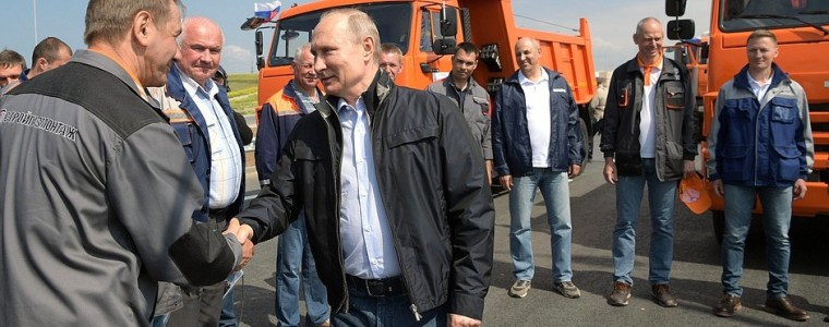 Inval Oekraïense geheime dienst bij Russische media rond opening Krimbrug