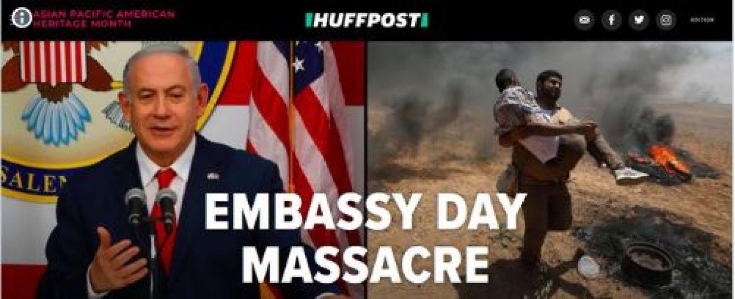 Opening Amerikaanse ambassade klap in gezicht Palestijnen – The Rights Forum