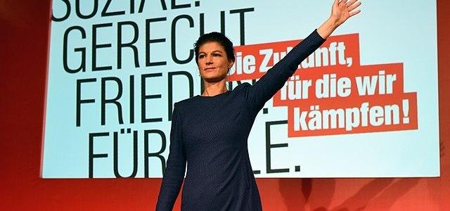 Lafontaine pleit voor linkse hergroepering, gerucht afsplitsing Wagenknecht