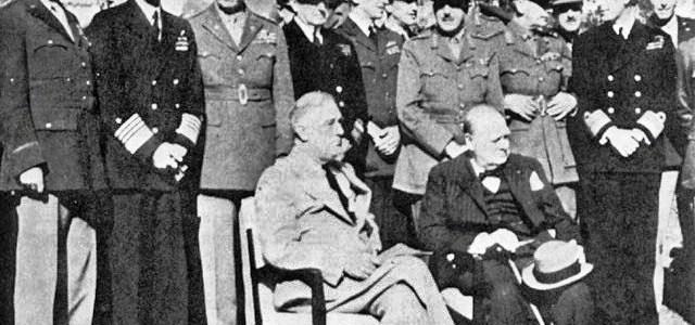 75 jaar geleden besloten Roosevelt en Churchill tot Moral Bombing en eisten onvoorwaardelijke overgave