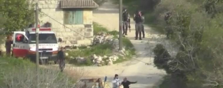 Israëlische politie gooit traangasgranaat naar Palestijns echtpaar met baby – The Rights Forum