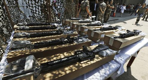 40 Ton chemische wapens achtergelaten door de VS en EU gesponsorde rebellen