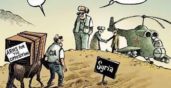 De parallel tussen de gifgasaanvallen in Syrië en de vergiftiging van Skripal