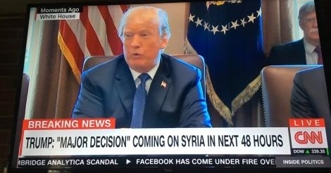 'Onze raketten komen er aan', Trump dreigt oorlog met Rusland te ontketenen