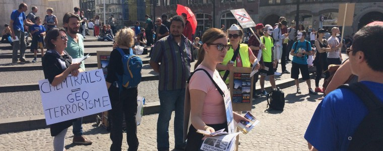 Terugblik op de Global March tegen chemtrails en geoengineering