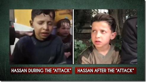 """De propaganda campagne van het westen over het """"beest""""Assad valt in duigen!"""