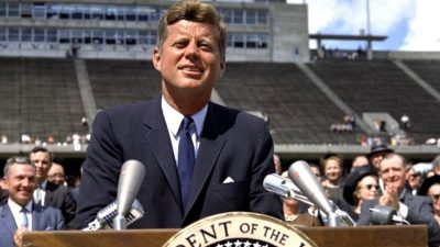 "John F. Kennedy on Nuclear War and the Threats to World Peace: ""Together we Shall Save our Planet, or We shall Perish in its Flames"" 