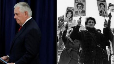 Tillerson Invokes Possibility of Pinochet-Style Coup in Venezuela   Global Research – Centre for Research on Globalization