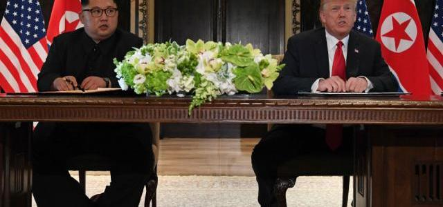 """Trump And Kim Sign """"Comprehensive"""" Letter To End Historic Summit, Agree To """"Follow-On"""" Negotiations"""